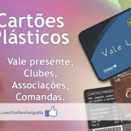 CARTÕES PLÁSTICOS PVC