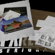Cartão de visita em papel