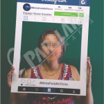placa instagram para festa curitiba